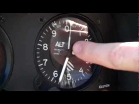 Helicopter lessons: Altimeter