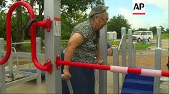 Senior citizens in south Texas now have the opportunity to exercise at a special playground, designe