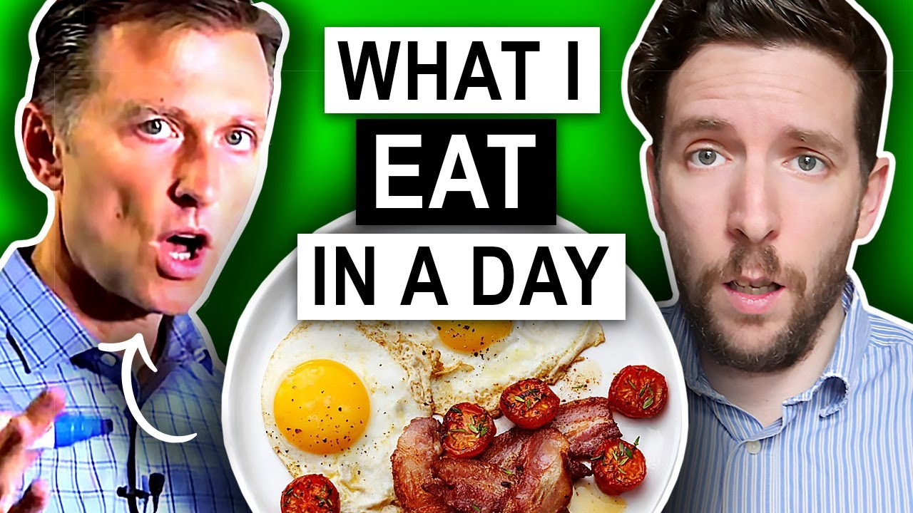 Nutritionist Reviews | Dr Berg's What I Eat In A Day (UNBELIEVABLE)