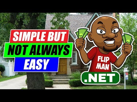 simple-but-not-always-easy:-wholesaling-&-flipping-houses---real-estate-investing-no-cash-needed
