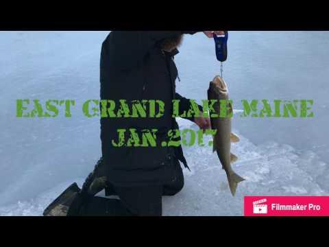 Fishing East Grand Lake
