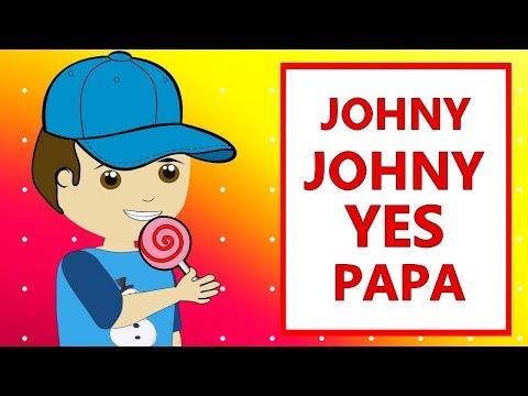 Johny Johny Yes Papa   İngilizce Çocuk Şarkıları 2018   Bebek Şarkıları