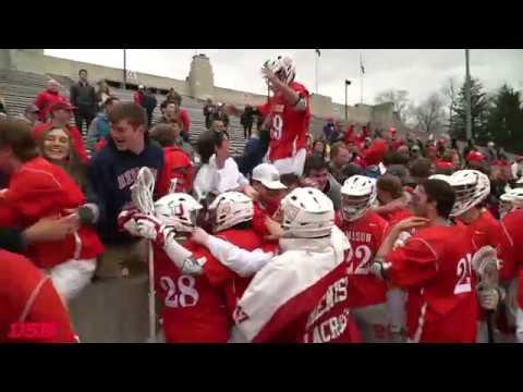 Denison Men's Lacrosse defeats OWU for the 2018 NCAC Tourney Championship
