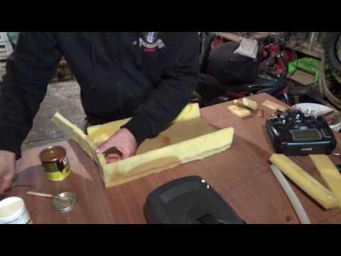How to cut and glue sponge cushion foam Techniques + Materials