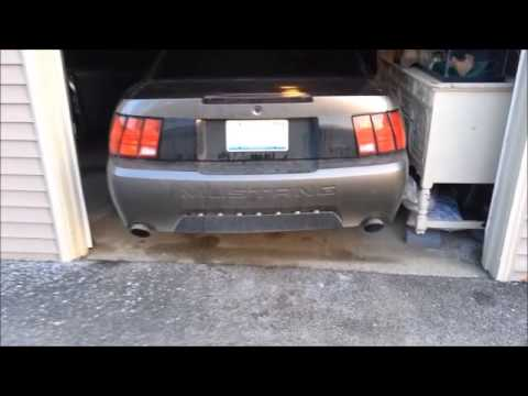loud v6 mustang exhaust clip youtube. Black Bedroom Furniture Sets. Home Design Ideas