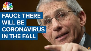 Dr. Anthony Fauci: Coronavirus will rebound if governors reopen the economy too soon