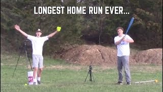 We Just Hit the Longest Blitzball Home Run Ever...