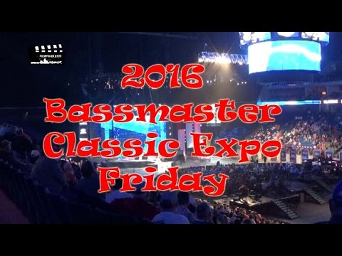 2016 Bassmaster Classic Expo - Friday; Tulsa, Oklahoma: Episode 284