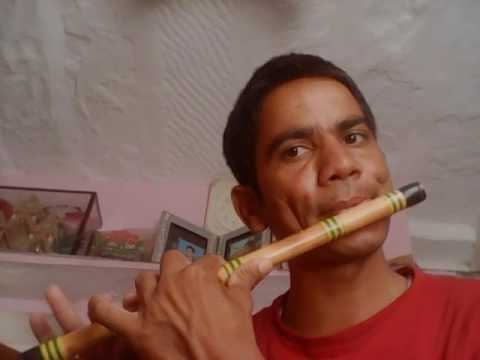 Tere  mere hoton pe flute by Tina