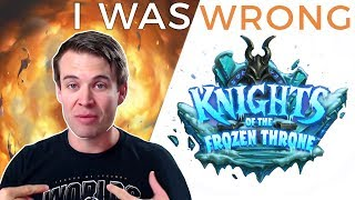 Brian Kibler: I Was Wrong