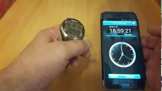 Электронные, наручные часы XONIX с калибровкой времени из Китая. Обзор.