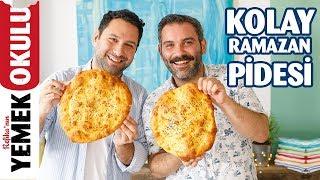Pide Kuyruğu Beklemeye Son! | 5 Dakikada Kolay Ramazan Pidesi Tarifi | Burak'ın Ekmek Teknesi