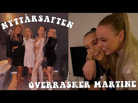 OVERRASKER MARTINE, Sverige ++ Vr NYTTRSFEIRING