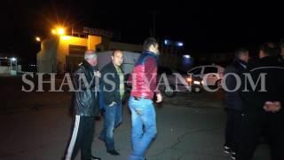 Երևանում բախվել են Opel ն ու BMW ն  BMW  ն էլ բախվել է գազատար խողովակին