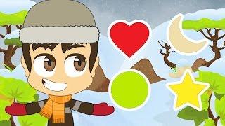Learn Shapes in Arabic for Children - تعليم الأشكال للاطفال باللغة العربية