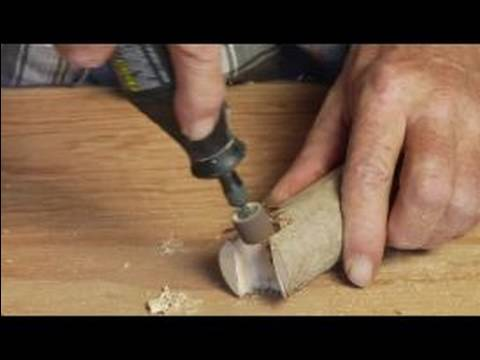 How to make a wood walking cane using rotary tool to How to make designs in wood
