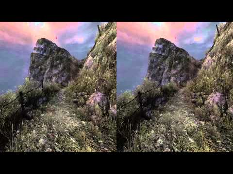 3D Stereo Game Play Dear Esther