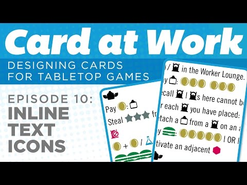 Card at Work: 10 - How to Make Inline Dingbat Icons in Text