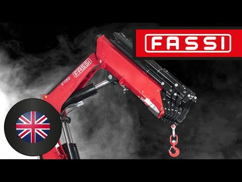 The Fassi F1150RA Crane: A Completely New Model
