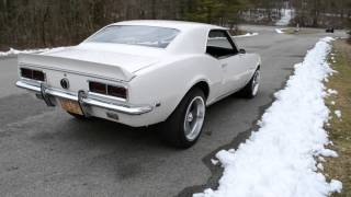 1968 CAMARO RS RALLY SPORT 6 AUTO VERY SOLID BEAUTIFUL DOVER WHITE VERY NICE CAR