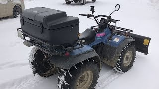 Best Luggage Box for King Quad 300 ATV