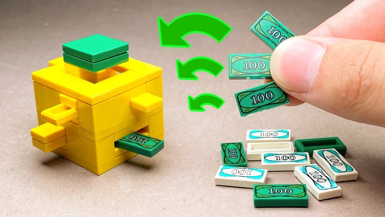 HOW TO MAKE A LEGO PUZZLE BOX !