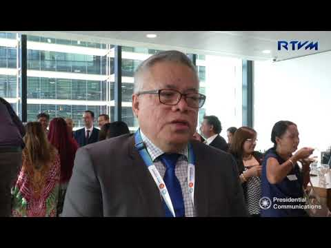 Interview with Department of Trade and Industry Secretary Ramon Lopez 3/16/2018