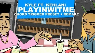 KYLE - PLAYINWITME ft. Kehlani (Remake + MIDI)