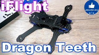 ✔ FPV Рама iFlight Dragon Teeth - Freestyle Frame. 220mm Low Rider! iflight-rc.com