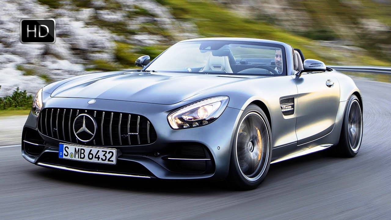 2018 Mercedes Benz Amg Gt C Convertible Selenit Grey Road Test Drive Hd