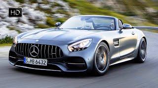 2018 Mercedes-Benz AMG GT C Convertible Selenit Grey Road Test Drive HD
