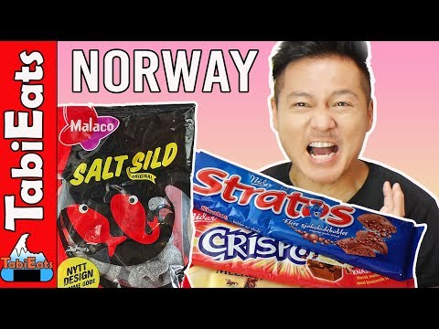 Trying NORWEGIAN SNACKS PART 1