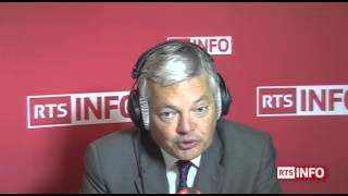 L'invité de la rédaction - Didier Reynders, ministre des affaires étrangères belge