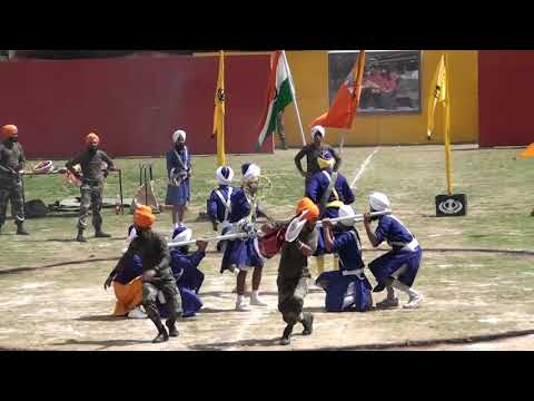 INDIAN ARMY BEG GATKA TEAM IN BHUTAN PFMS