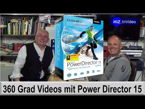 360° Videos Mit Cyberlink Power Director - HIZ095