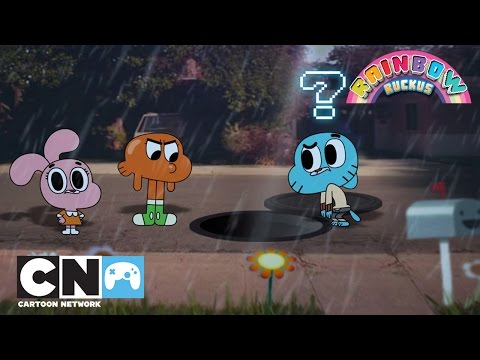 Gumbal Rainbow Ruckus | Mobiele App | Cartoon Network