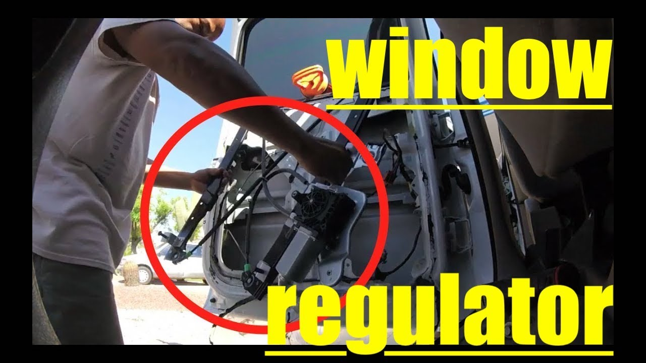 This Is Too Easy Window Regulator Replacement Chevy Suburban Fix It Angel