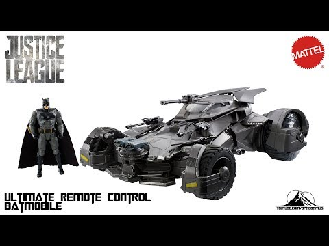 Optibotimus Reviews: Mattel Justice League ULTIMATE Justice League Remote Control BATMOBILE