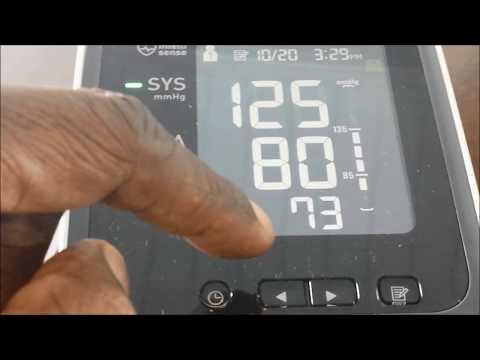 Omron 10 series Blood Pressure Monitor Model BP785N