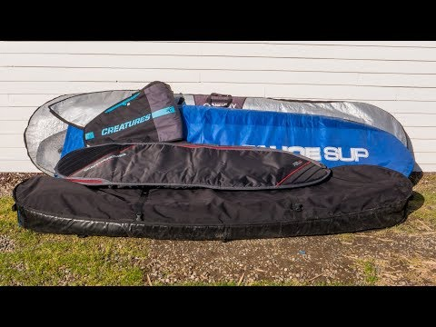 THE BEST SURFBOARD BAG IN THE UNIVERSE: Ocean & Earth Double Wide Compact Board Cover