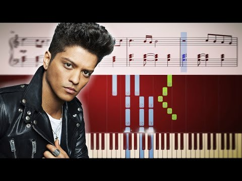 Bruno Mars - When I Was Your Man - Piano Tutorial + SHEETS