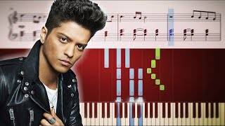 Video Bruno Mars - When I Was Your Man - Piano Tutorial + SHEETS download MP3, 3GP, MP4, WEBM, AVI, FLV Agustus 2018
