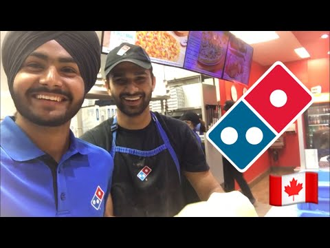 INTERNATIONAL STUDENT JOB IN CANADA | DOMINOS
