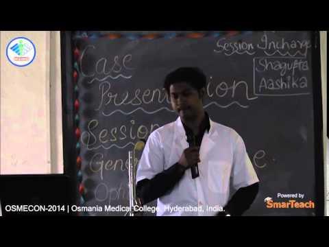 Case Presentation - K. Viswateja of Shri BM Patil Medical College, Bijapur