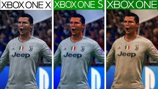 FIFA 19 | Xbox One X VS Xbox One S VS Xbox One | Graphics Comparisonq
