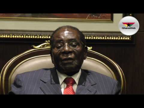 President Mugabe on Ghana's 60th Independence Anniversary