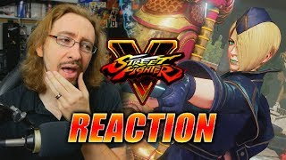 MAX REACTS: Falke Trailer/Reveal - Street Fighter 5 S3