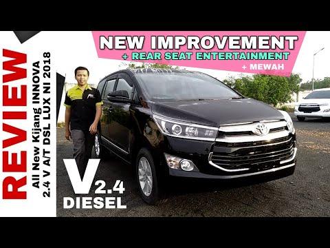 Explorasi INNOVA V DIESEL New Improvement Dapat Rear Seat Entertainment Toyota Indonesia
