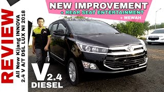 Download Video Explorasi INNOVA V DIESEL New Improvement Dapat Rear Seat Entertainment Toyota Indonesia MP3 3GP MP4