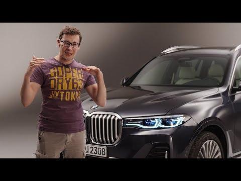 BMW X7 СУПЕРЭКСКЛЮЗИВ. Первый обзор огромного кроссовера БМВ ИКС СЕМЬ